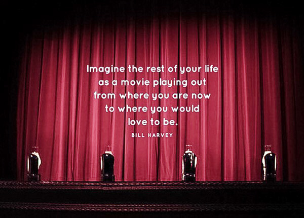 Imagine the rest of your life as a movie...