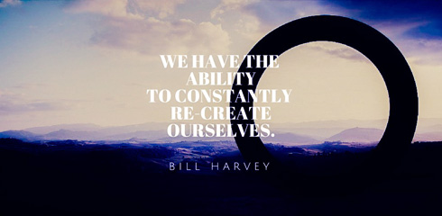 ability to re-create ourselves