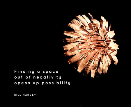 open up possibility - Bil Harvey