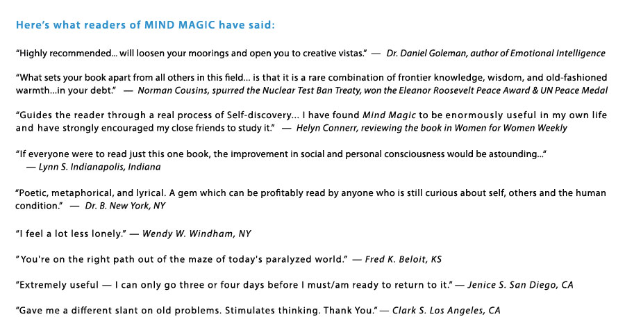 Relationship Challenges and Solutions with Mind Magic by